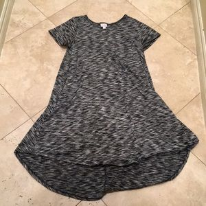 Grey and Black LulaRoe Dress